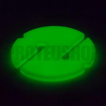 Galleta espeleobuceo fluorescente
