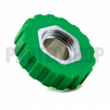 DIN Wheel G5/8 green for 1st stage TECLINE