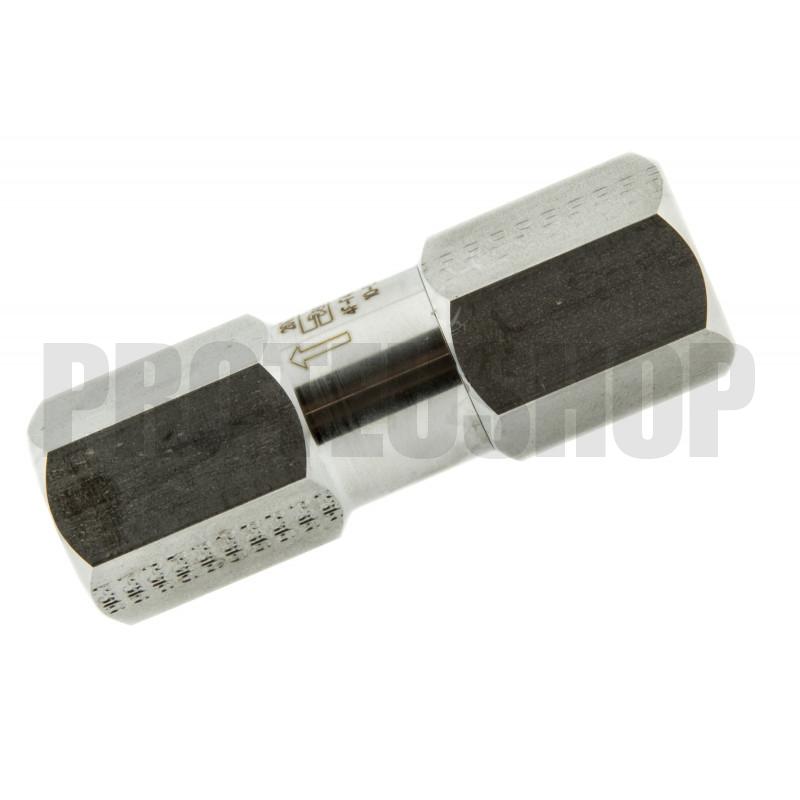 Filtro de acero inoxidable en línea 10 micrones - 1/4NPT